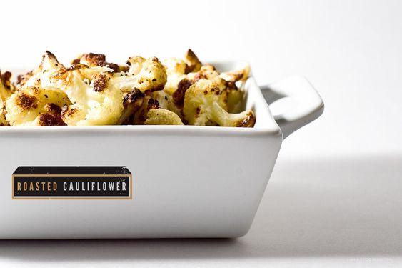 roasted cauliflower: Side Dishes, Cauliflower 3L, Cauliflower Recipes, Food Blog, Eat Cauliflower, Oven Roasted Cauliflower, Food Recipe, Roasted Cauliflowers