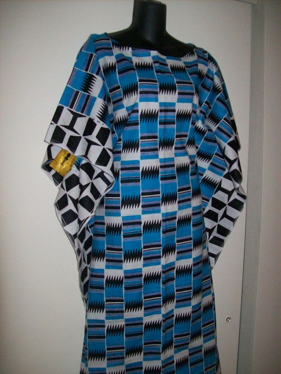 Plus size Kente Kaftan by tambocollection on Etsy, $34.99