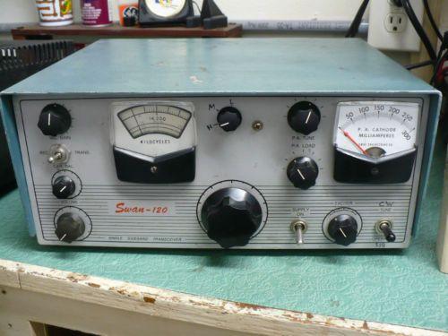 Swan-120 20 Meter SSB Monoband Amateur Radio Transceiver.