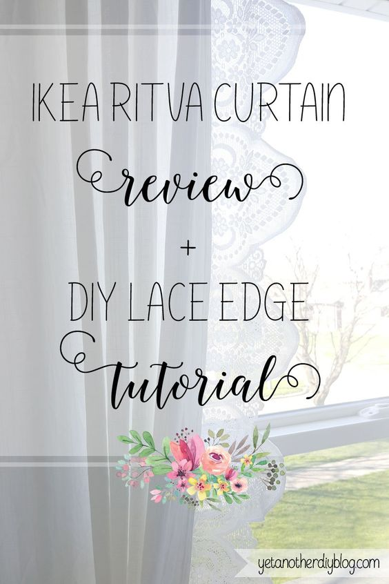 Ikea Ritva Curtains Review and Easy Hack | Ikea, Curtains and Hacks