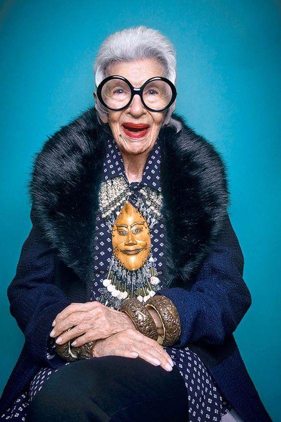 Iris Apfel: 5 mulheres que provam que estilo não tem idade