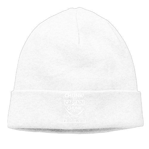 ce339826b30 Chunk No Captain Chunk Rock Playing Dead Cap Cool Beanie Knit Hat Watch Cap  --