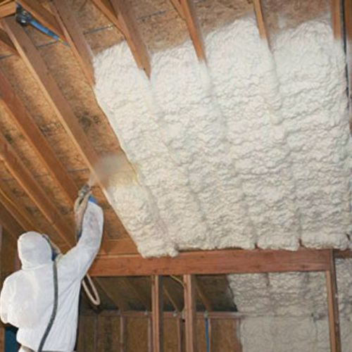 Getting To Know Spider Insulation Greenbuildingadvisor Spray In Fiberglass Spray Foam Spray Foam Insulation Container House