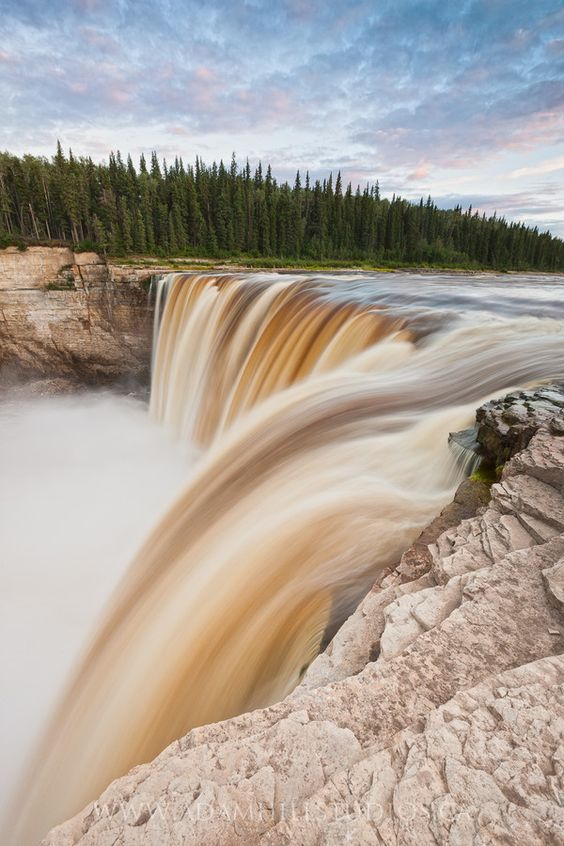 """Alexandra Falls, NWT"" by Adam Hill:"