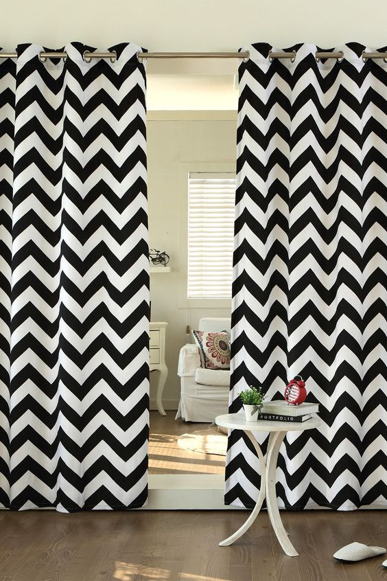Curtains Ideas chevron print curtains : Pinterest • The world's catalog of ideas