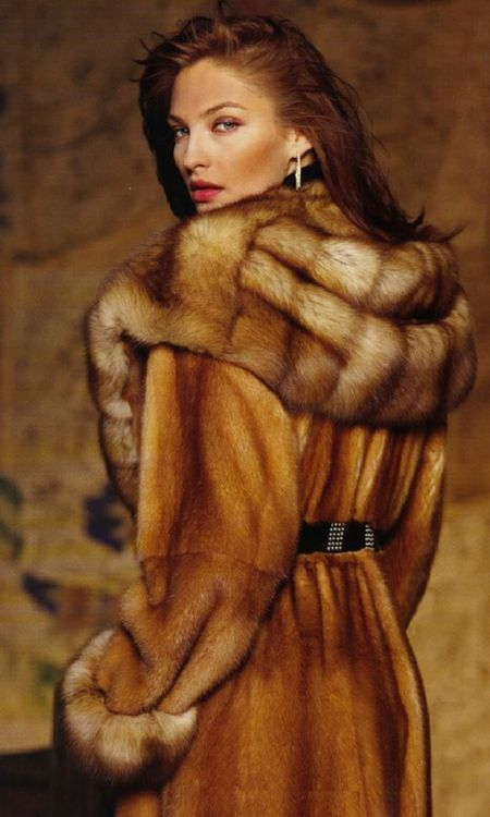 **FX** fur fourrure mink & sable fur coat Find a great fur coat in Toronto - visit the Yukon Fur Co. at http://yukonfur.com