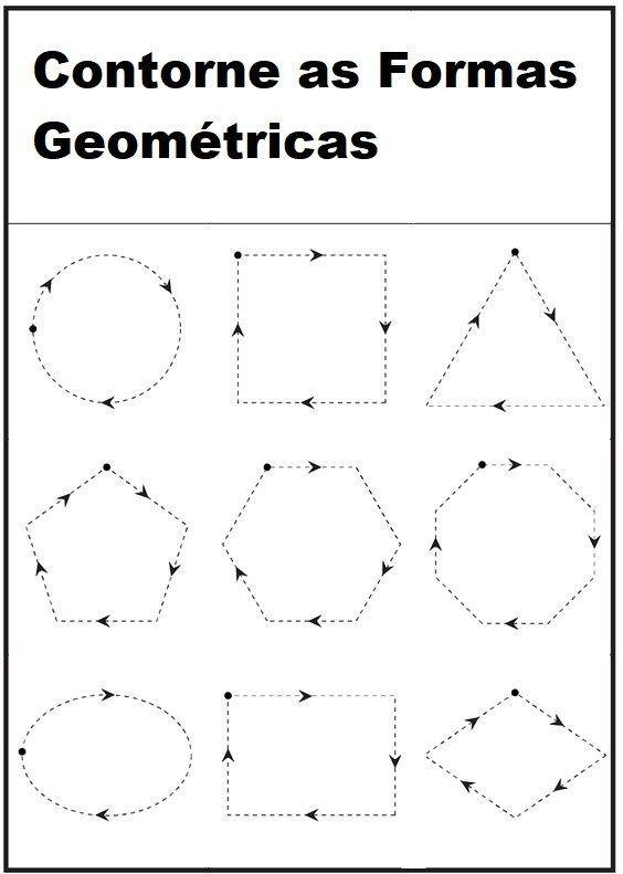 70 Atividades Com Formas Geometricas Educacao Infantil E Maternal