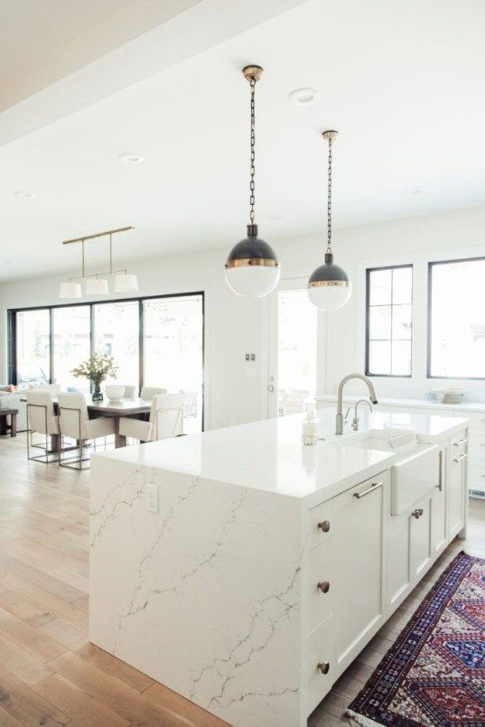 36 Inspiring White Scandinavian Kitchen Decoration Ideas In 2020 Scandinavian Kitchen Design White Kitchen Design Kitchen Style