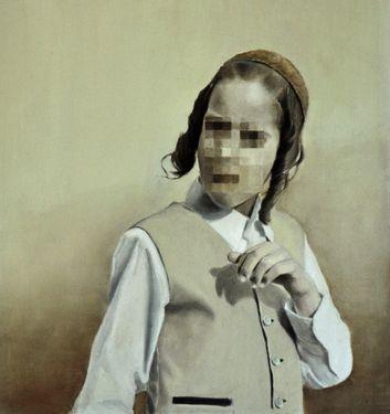 """Saatchi Art Artist Diederik Boyen; Painting, """"Gershon"""" #art"""