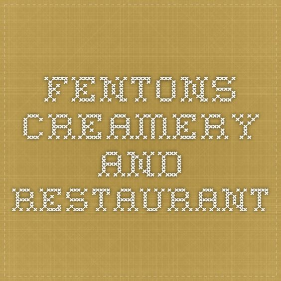 Oakland, CA | Fentons Creamery and Restaurant || Dessert is amazing; yet to try food, but it looked delicious; busy, but fun.