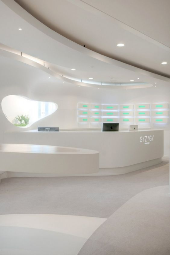 SYZYGY Office by 3deluxe #HIMACS #solidsurface