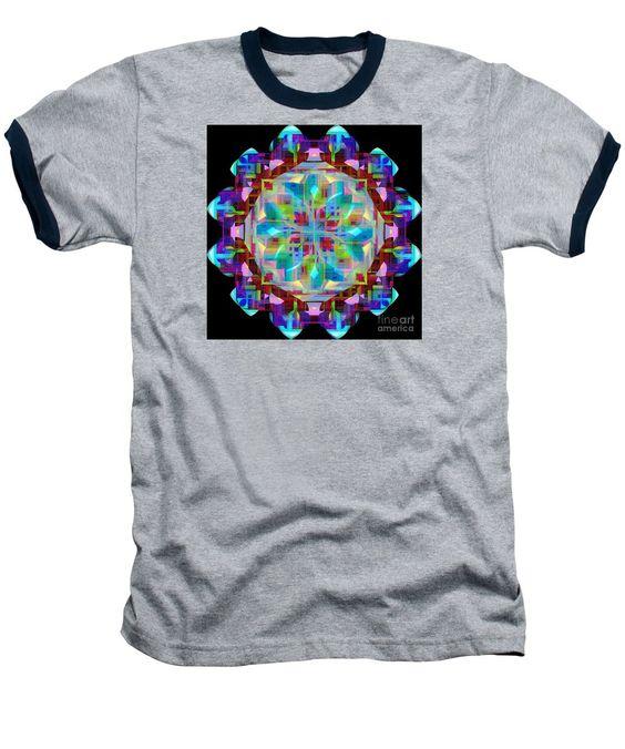 Baseball T-Shirt - Mandala 9725