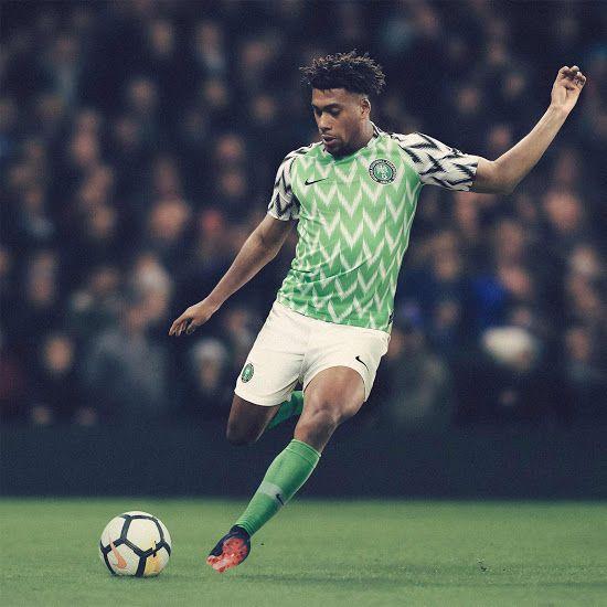 Nigeria 2018 World Cup Home Kit Revealed Uniformes De Futbol Copa Del Mundo Deportes Futbol