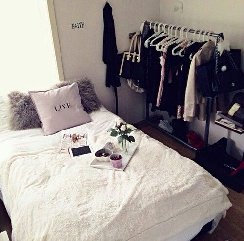 This is really nice but I would probably have things like food, chocolate or fudge cake written on the pillow and wall not live and faith lol