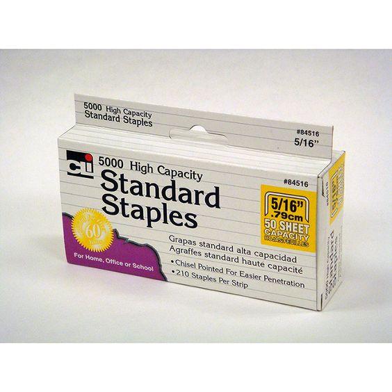 HIGH CAPACITY STANDARD STAPLES 5000
