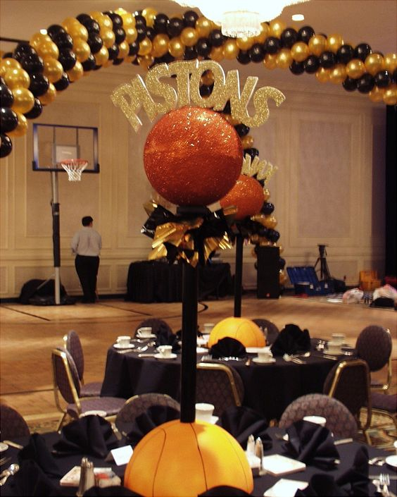 25 Best Ideas About Basketball Decorations On Pinterest: Your Dream It, We Create It