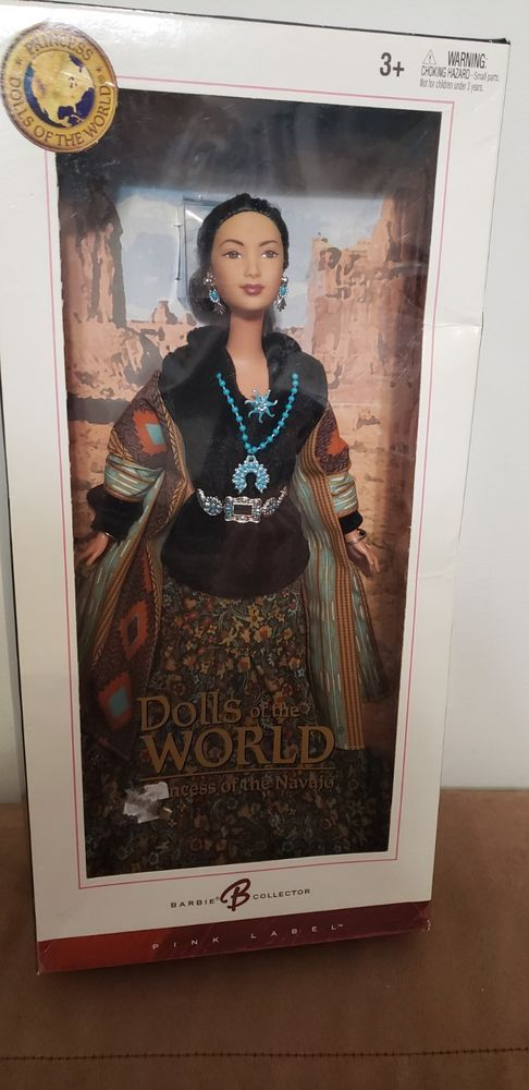 Princess of the Navajo Barbie Doll Dolls of the World: The Princess Collectio..