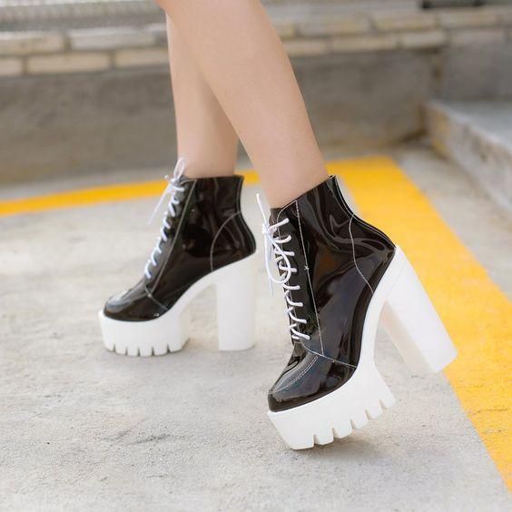 100 стильных трендов: Модные женские ботинки 2019, новинки на фото