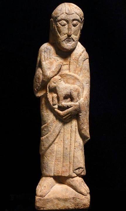 Пастырь добрый. Романская скульптура (ок.XI-XIII вв.)