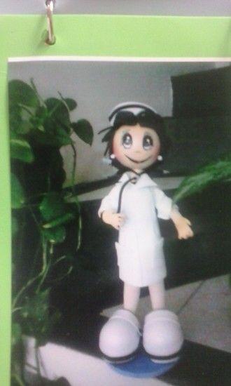 """""""Mi enfermera """"Paty"""" fomi 3D"""