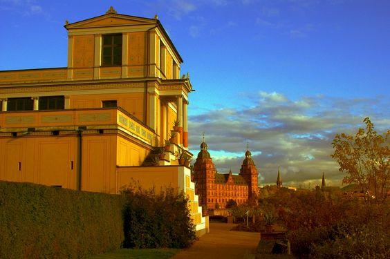 Pompejanum and Schloss Johannisburg in Aschaffenburg: