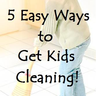 Simmworks Family Blog: 5 Easy Ways to Get Kids Cleaning
