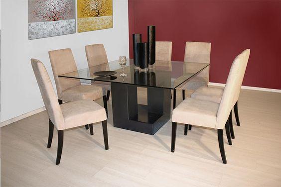 Comedor danna silla mesa bufetero muebleria avanti muebles for Muebles contemporaneos monterrey