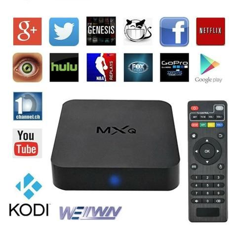 Conversor Smart Tv Android Netflix Tv Box Conversor Smart Tv