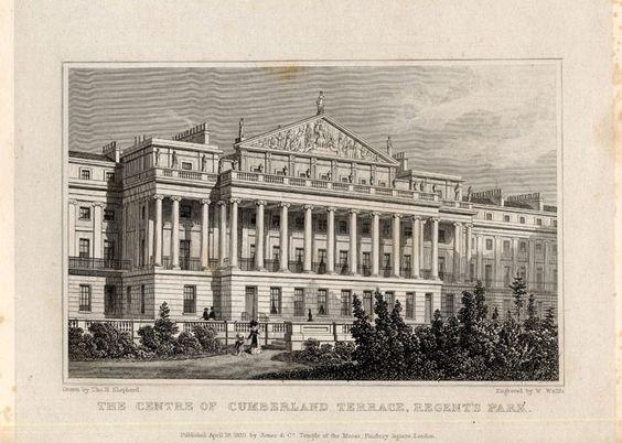 The Prints Collector :: Antique Print-CUMBERLAND-LONDON-ENGLAND-Shepherd-1827