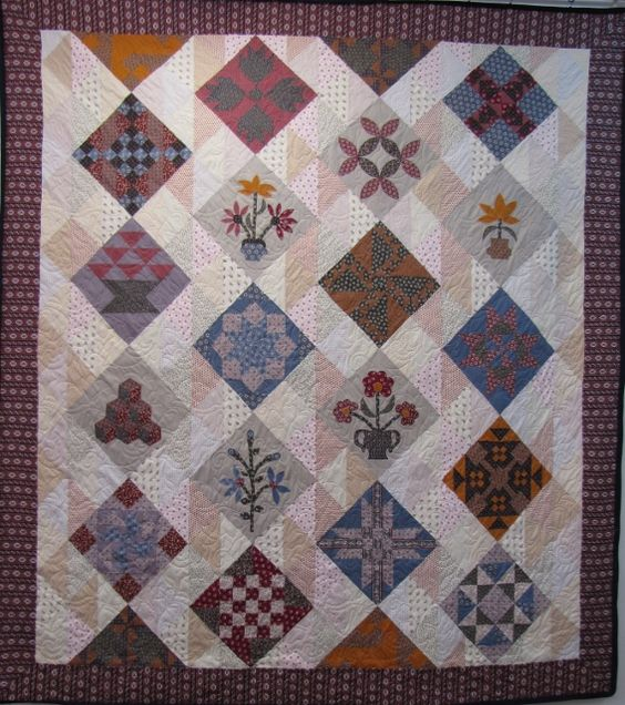 Bessie's Sampler Block of the Month