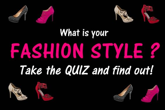 Fashion style quiz quizes and fashion styles on pinterest Find my fashion style quiz