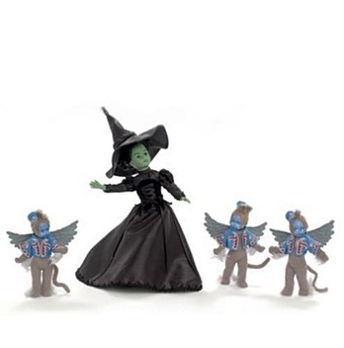 New Madame Alexander Wizard of Oz Wicked Witch & Winged Monkeys 75…
