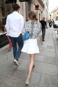 THE OLIVIA PALERMO LOOKBOOK: Olivia Palermo and Johannes Huebl in Paris