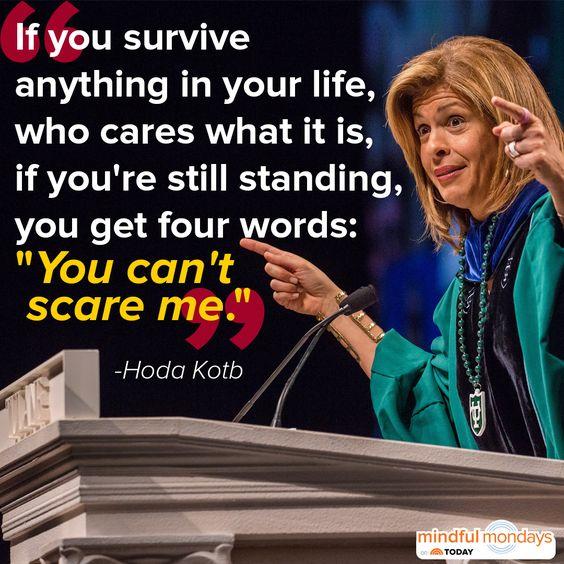 Love Hoda ... Hoda Kotb shared some meaningful words of advice with Tulane University graduates.