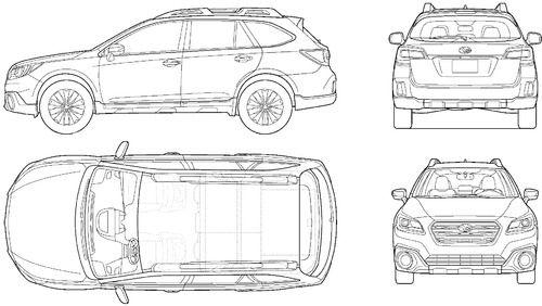Pin By Bruce H On Vehicle Sketching Subaru Outback Subaru Subaru Outback 2016