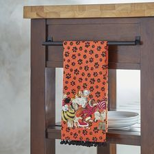 Park Avenue Puppies™ Halloween Tea Towel