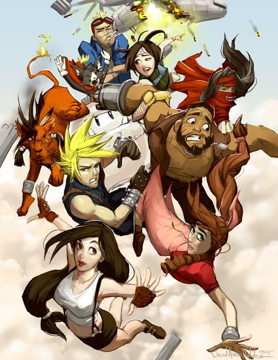 Final Fantasy 7 by DavidValdez