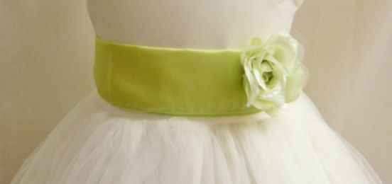 Colorful Sash with Matching Flower by NollaCollection on Etsy, $9.99