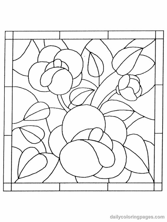 Number Names Worksheets pictures of flowers to trace : Coloring, Coloring books and Flower on Pinterest