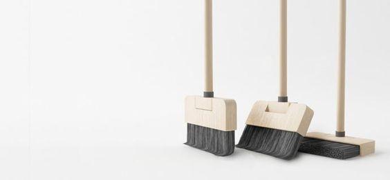 Standing broom by Poh Liang Hock.