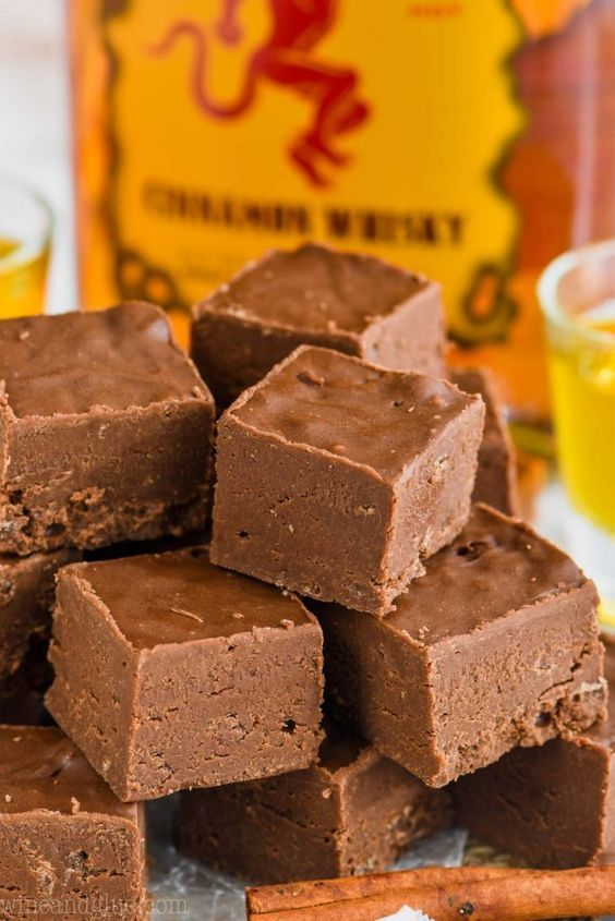 This Easy Fireball Fudge Recipe Is The Perfect Recipe To Make For The Holidays Or Anytime An Ea Fudge Recipes Chocolate Peanut Butter Fudge Slow Cooker Fudge