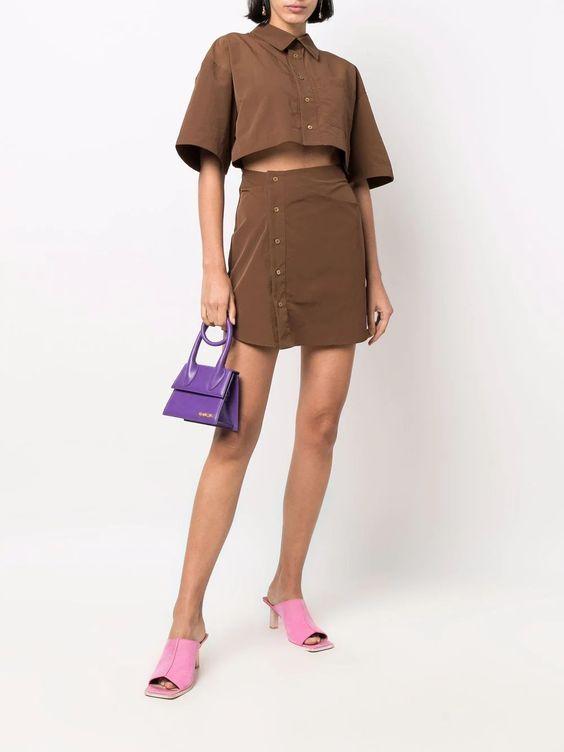 Arles cut-out mini dress, £460, Jacquemus at Farfetch