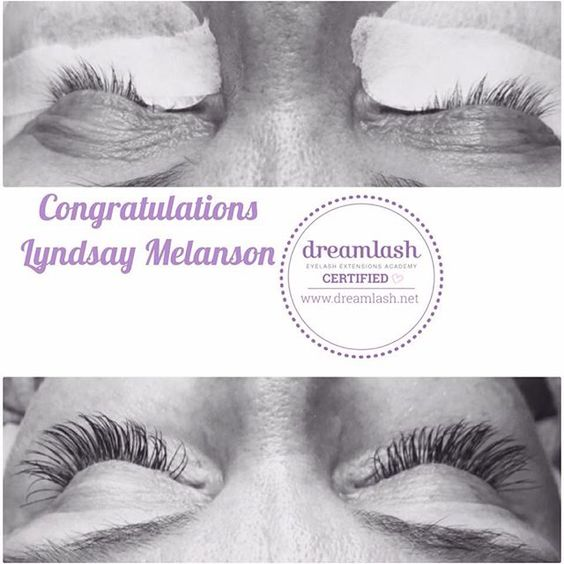 We are so excited to announce that one of our Dreamlash Stars⭐️, Lyndsay Melanson is now officially Dreamlash Certified!  Please join us in congratulating her on hitting such a fabulash milestone!