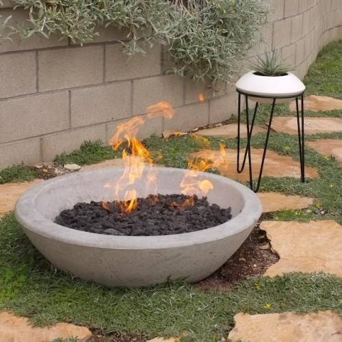 Fire Pits The Wok Fire Pit Potted Los Angeles Diy