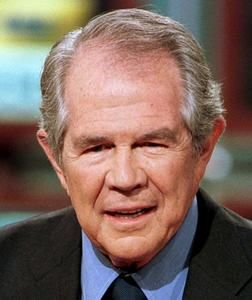 Watch: Televangelist Pat Robertson says gay people are 'terrorists'