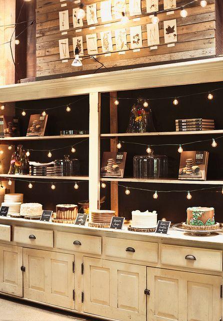 vintage cake display cabinet 2