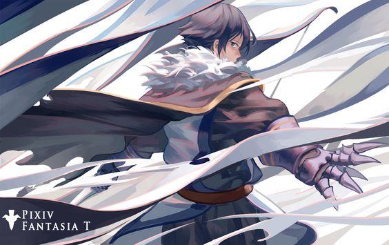 【PFT】 青の王 / Artist: http://www.pixiv.net/member.php?id=4592232