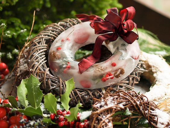 ice wreath | Flickr - Photo Sharing!