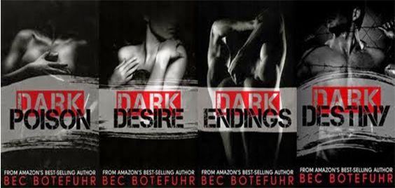 Românticos e Eróticos  Book: Bec Botefuhr - Dark Brother #1 a #4