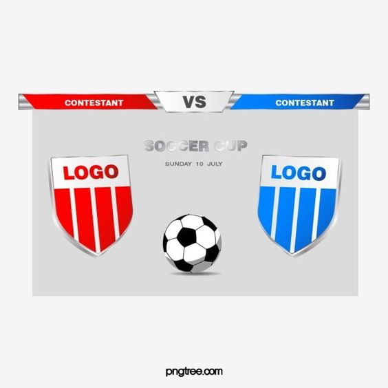 Jogo De Futebol De Cor Futebol Escudo Batalha Decisiva Imagem Png E Vetor Para Download Gratuito In 2021 Soccer Cup Football Match Cup Logo